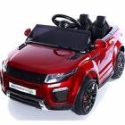 Range Rover Evoque Style 12v Child's Electric Ride On Car Jeep - 6 Colour