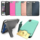 Kyпить Protective Armour Hard Phone Case Cover with Hidden CARD HOLDER & Media Stand на еВаy.соm