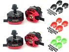 4x RS2205 2300KV Racing Edition CW/CCW Motor + Motor Cover Quadcopter EMAX (GBP)