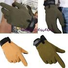 Men Outdoor Military Tactical Airsoft Shooting Hunting Full Finger Gloves LJ