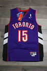 Vince Carter #15 Toronto Raptors Purple Throwback Retro Basketball Swingman New