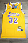 Magic Johnson #32 Los Angeles lakers Yellow Throwback White Vintage Classic New on eBay