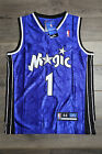 Tracy McGrady #1 Orlando Magic Jersey Blue Throwback White Vintage Classic Retro on eBay