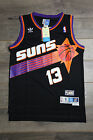 Steve Nash #13 Phoenix Suns Black Jersey Throwback Vintage Classic Retro Rookie on eBay