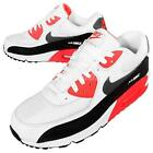 Nike Air Max 90 Essential White Infrared Black Mens Running Shoes OG 537384-126