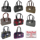 New Womens Ladies Fashion Harris Tweed Medium Eden Square Handbag in 8 Colours