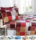 1800 Egyptian Collection 6 Piece Deep Pocket Printed Bed Sheet Set image
