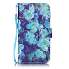 Slim Fashion Flip Stand Leather Wallet Card Cover Case For iPhone 7&Plus 6s 5SE