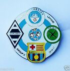 Manchester City UNOFFICIAL Badge Barcelona Borussia Celts League of Champions