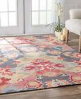 nuLOOM Radiante Ning Hand Tufted Contemporary Multi Color Red Sale Area Rug