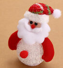 Snowman Santa Claus Ornaments Christmas Tree LED Light Hanging Xmas Decor