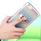New 3D Ring Stand Crystal Diamond Bling Glitter Lot Case Cover Silicone Bumper