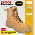 """Oliver Work Boots 55332, 150mm (6""""), Lace-Up, Steel Cap Safety - UPDATED STYLE"""