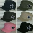 Dallas Cowboys Cotton Twill Corps Hat ~CLASSIC NFL PATCH/LOGO ~6 Hot Colors ~NEW on eBay