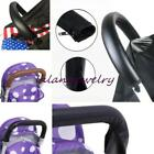 Baby Pram Stroller Handle Bar Accessories Leather Protective Grip Case Cover LJ