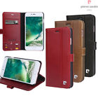 Pierre Cardin Genuine Leather Walllet Stand Magic Case Cover For iPhone 7 Plus