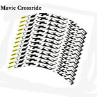 Mavic Crossride Disc Mountain Bicycle Bike Wheel Rim Sticker For MTB Race Decals