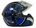 Box BX-1 Scope Blue Helmet ** CLEARANCE WITH FREE NEXT DAY UK DELIVERY **