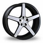 """JUDD T203 MATT BLACK/BRUSHED POLISHED alloy wheels 20"""" FREE DELIVERY  VW T5 T6"""