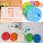 Infant Baby Kids Handprint Footprint Clay Special Baby DIY Air Drying Clays BE