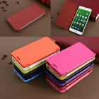 New Ultra Slim Slim Book Snap On Back PU Leather Flip Case Cover For Meizu Phone