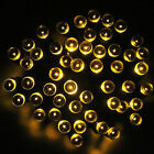 200 LEDs Waterproof New Solar Pannel 8 Lighting Modes Starry String Fairy Lights