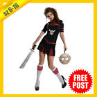 RUBIES Ladies Costume Fancy Dress Licensed Friday 13th Jason Cheerleader 881574