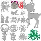 Xmas Cutter Cutting Dies Stencils Scrapbooking Cards Album Paper Embossing Craft for sale  China