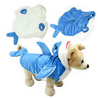 Winter Shark Design Dog Clothes Costume Pet Hoodie Puppy Coat Cat Apparel Gift
