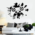 Vinyl Wall Decal Joystick Video Games Gaming Child Room Stickers (ig3691)