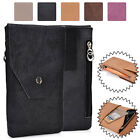 Universal Genuine Leather Vertical Protective Phone Sleeve Pouch Case Cover MO3