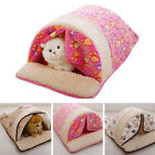 Cute Cotton Cat/Dog Bed Sofa Soft Warm Pet Kitty Puppy Beds Sleeping bag Use RO