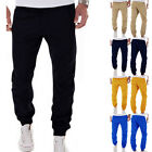 Hot Mens Slim Fit Tracksuit Bottoms Skinny Jogging Joggers Sweat Pants Trousers