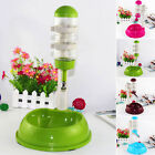 New Water Feeder Automatic Water Food Dispenser Dish Bowl for Pets Dog Cat Puppy
