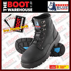 Steel Blue 'Argyle' 312102 Work Boots. Black. Steel Toe Cap Safety. Lace Up!