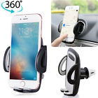 Universal 360° Car Air Vent Mount Holder Cradle Stand for Cell Phone iPhone