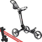 2016 MacGregor 3 Concept - 3 Wheel Mens Compact Push / Pull Golf Trolley Cart