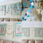 Hanging Garland Strings Star Shaped Party Bridal Festival Home Decoration
