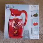 """New Primula Infuse """"flavor It"""" 3-in-1 Beverage System / 2.9 Qt Pitcher Set"""