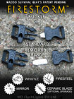 WAZOO SURVIVAL GEAR FIRESTORM FIRE STARTER PARACORD WHISTLE BUCKLE BUSHCRAFT EDC