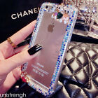 Bling Bling Diamonds Cell Phone Frame Case Cover for iPhone 6 6S 7 Plus Crystal