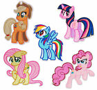 MY LITTLE PONY Character Iron-on Sew On Patch Badge Applique Motif DIY Craft