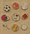 SPORTS - U Pick Floating Charm(s) & Origami Owl Stardust Crystal for your Locket