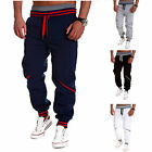 Mens Casual Gym Tracksuit Bottoms Plain Jogging Trousers Joggers Sweat Pants New