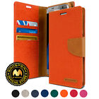 GOOSPERY® Canvas Diary Flip Cover Stand Wallet Case for Galaxy Note 5 S7 S7 Edge