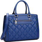 New Fashion Dasein Quilted Satchel  Women's Shoulder Bag Handbag Briefcase
