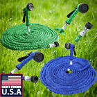 Внешний вид - US 25 50 75 100 200 Feet Expandable Flexible Garden Water Hose Pipe+Spray Nozzle