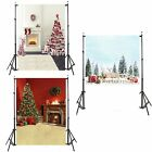 5 x 6.5ft Christmas Tree Background Photography Backdrop Cloth for Studio Props