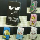 Don't Touch My Phone Wallet Stander Flip case cover For Motorola Moto Phone
