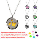 Wearable Essential Oil Diffuser Necklace Unisex Couples Premium Stainless Steel